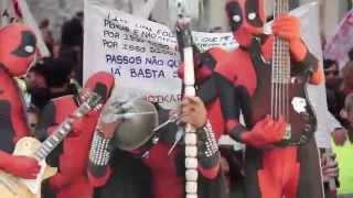 """Quinteto Explosivo - """"Fado, Futebol, Fátima, F*da-se"""" - Videoclip"""