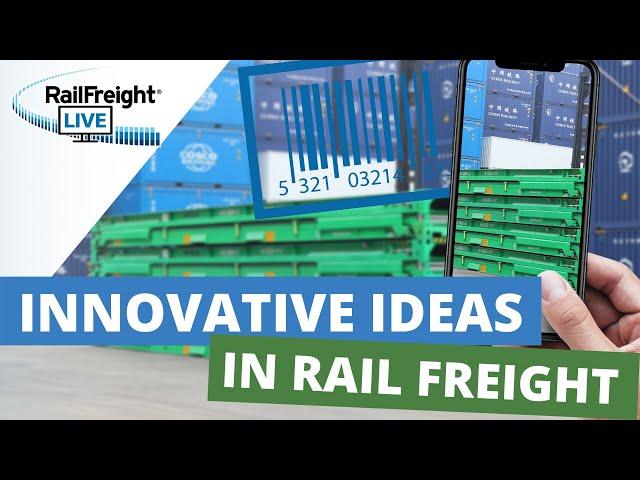 Innovative rail freight ideas