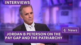 Jordan Peterson debate on the gender pay gap, campus protests and postmodernism width=