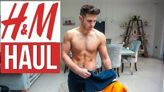 H&M Men's Clothing Haul & Try On 2019