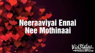 Unnale kangal thalladi song whats app status