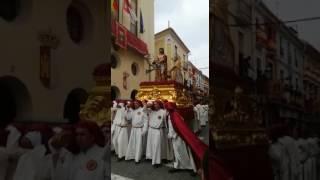 Llegada del Ecce Homo de Hellín - Viernes Santo 2017