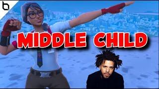 "Fortnite Montage - ""MIDDLE CHILD"" (J. Cole)"