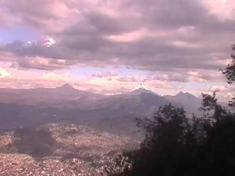 Teleférico de Quito, vista del Cotopaxi, Ecuador. Que lindo es Ecuador.