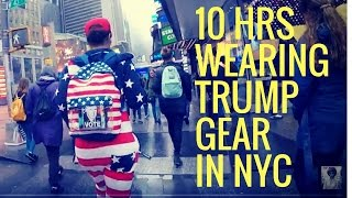 10 Hours Walking In NYC as a Woman Trump Supporter