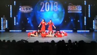 DSF Brilliants Jr. THE DANCE WORLDS 2013