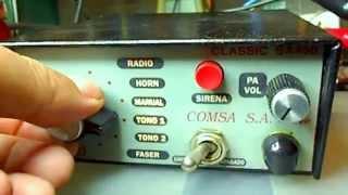 Sirena Electrónica Southern SVP Mod. SA-450