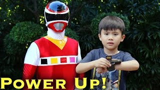 MORPH: Ranger Kid, Power Up! [Power Rangers]