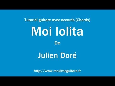 Comment jouer Moi Lolita à la guitare