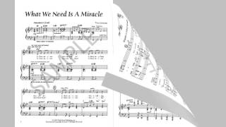 What We Need Is A Miracle - MusicK8.com Singles Reproducible Kit