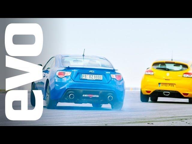 evo Track Battle: Renault Megane 265 Trophy v Subaru BRZ