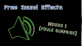 HOOO ! [Foule Surprise] - Free Sound Effects