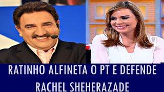 Ratinho alfineta o PT e defende Rachel Sheherazade; veja vídeo