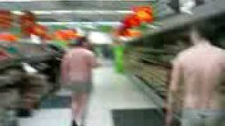 Naked Shopping at ASDA, Spennymoor