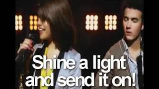Send it On - Jonas Brothers, Miley Cyrus, Demi Lovato & Selena Gomez Lyrics