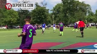 Valle FC le rompe el invicto a Estrella Blanca en Liga Douglas de Chicago.