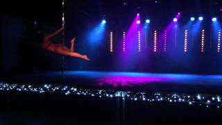 Rachel Britton - Pole Dance Routine - Angels (Bashki Remix) - The XX