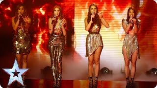Zyrah Rose set fire to the stage with Adele hit   Semi-Final 3   Britain's Got Talent 2016