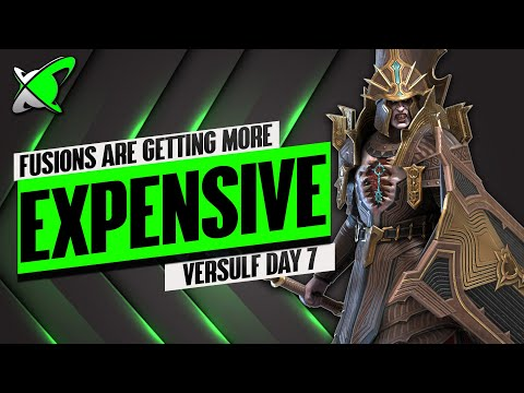 RESOURCE REQUIREMENTS ARE INCREASING!? | Versulf Fusion Day 7 | BGE's Guides | RAID: Shadow Legends