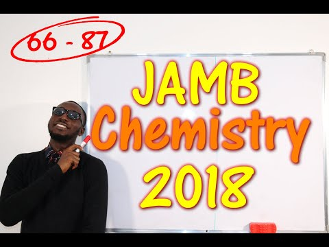 JAMB CBT Chemistry 2018 Past Questions 66 - 87