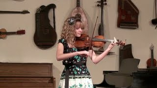"World's Fastest 13 Year-Old Violinist --  ""Flight Of The Bumblebee""  Aubree Oliverson"