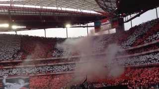 Ser Benfiquista - Homenagem a Eusébio - Benfica vs Porto (2-0) [HD]