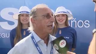 Lucio Godoy, en el marco del Gran Premio 60 Años RUS