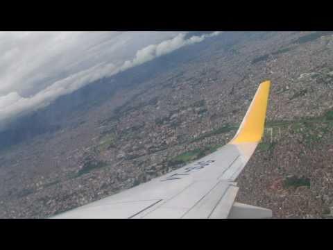 Departure from Kathmandu airport