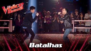Kelvin Bruno e Murilo Bispo cantam 'Clocks' nas Batalhas - The Voice Brasil | 7ª Temporada