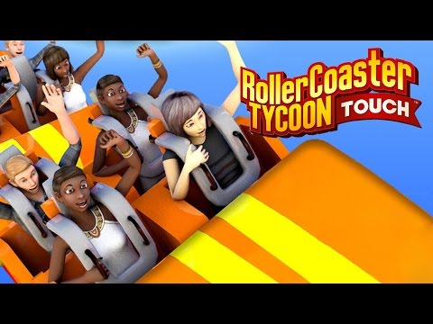 Rollercoaster Tycoon Touch Review (Prezentare joc pe Huawei P10 Plus/ Joc Android)