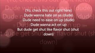 Black Eyed Peas - Pump it with lyrics