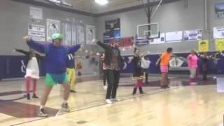 80's dance medley by teachers