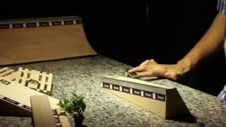 Inove Fingerboards - Manobras em Diversos Obstáculos
