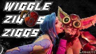 "Lendarios - Ziggs (Parodia Jason Derulo - ""Wiggle"" feat. Snoop Dogg)"