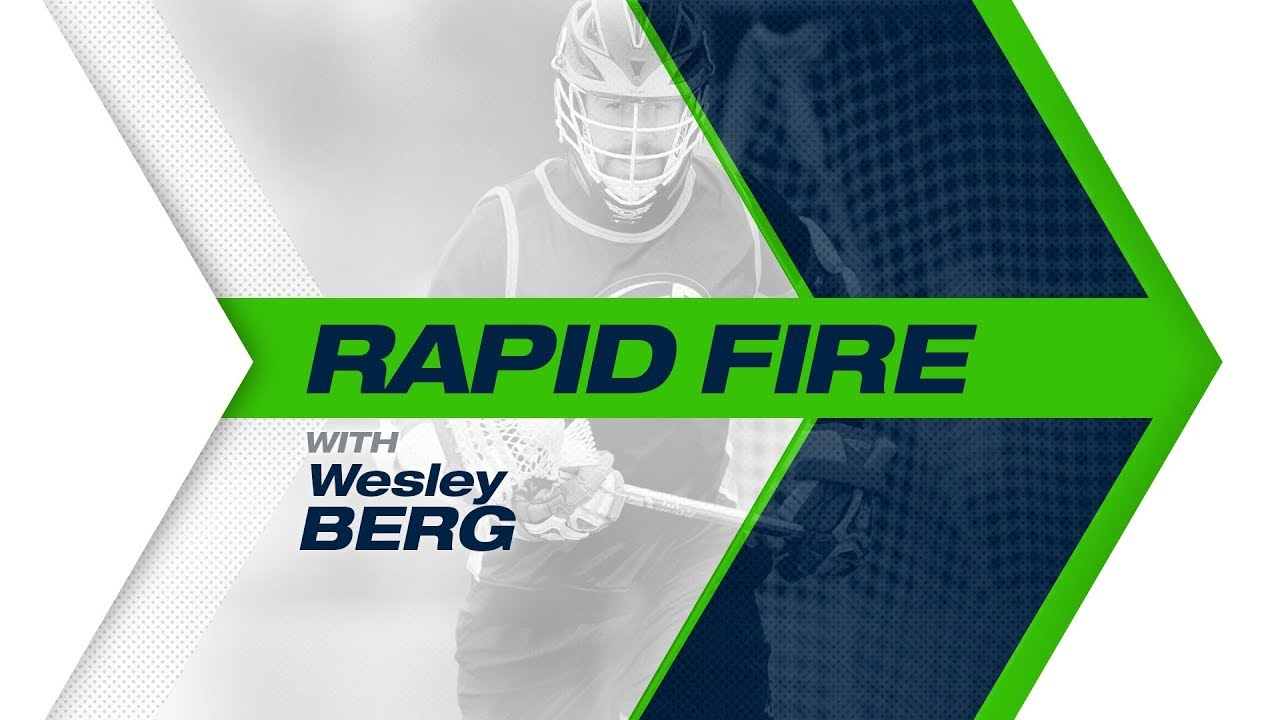Rapid Fire with Wesley Berg