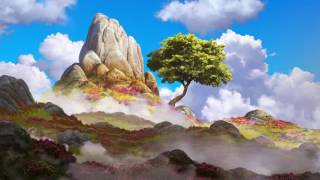 misty meadows - relaxing music & animation