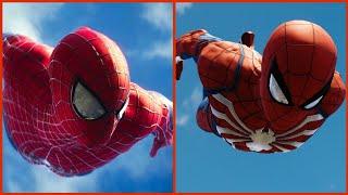 SPIDERMAN PS4 - RECREATING THE AMAZING SPIDERMAN 2 INTRO