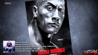 "WWE [HD] : Royal Rumble 2013 Official Theme Song - ""Champion"" By Clement Marfo & The Frontline + DL"