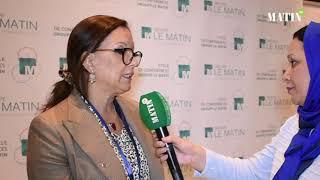 Cycle de conférences du Groupe Le Matin : Déclaration de Saloua Karkri Belkeziz, présidente de l'APEBI