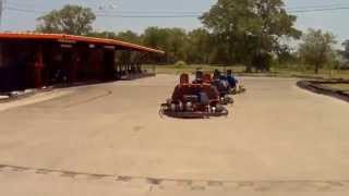 Taking a spin at Rockwood Go-Karts and Golf