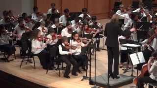 """Happy"", by Pharrell Williams, DUSS Intermediate 1 Orchestra"