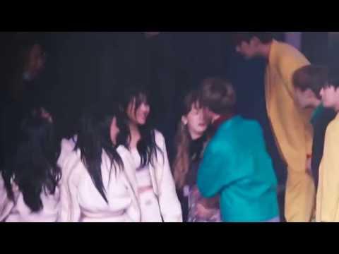 Download Video [Taeyeon, Shinee Minho, AOA] Greeting+Hug AOA And Minho