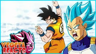 Vegeta Reacts To DRAGON BALL SUPER MOVIE OFFICIAL TEASER