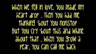 Grow A Pear - Ke$ha{Lyrics!}