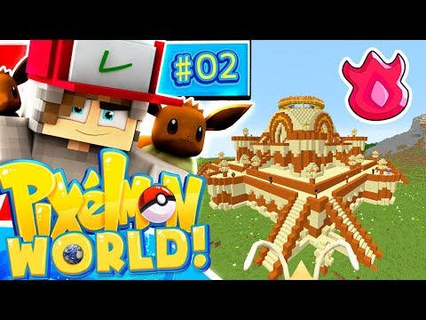 I Beat The Hardest Gym?! - Pixelmon World - Ep.2