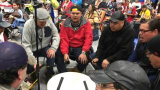 Wooden Face Men's Traditional Special Song 5 @ Living Sky Powwow