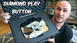 Diamond Play Button Unboxing