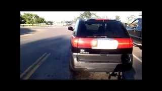 Impatient Close Pass then Impedes Traffic: Black Buick Rendezous (GEK 4223) 9-7-2014