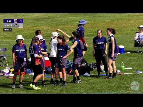 Video Thumbnail: 2019 Pro Championships, Women's Pool Play: Raleigh Phoenix vs. Boston Brute Squad