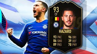 SIF HAZARD 93! IS HE WORTH 1,400,000 COINS? FIFA 19 ULTIMATE TEAM